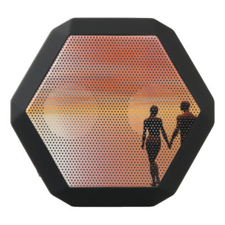 Couple romance - 3D render Black Bluetooth Speaker
