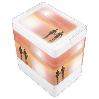 Couple romance - 3D render Cooler