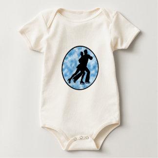 Couple Skate Baby Bodysuit