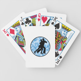 Couple Skate Bicycle Playing Cards