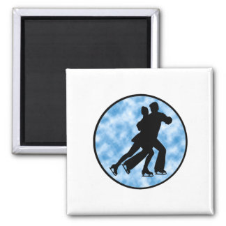 Couple Skate Magnet
