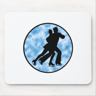 Couple Skate Mouse Pad