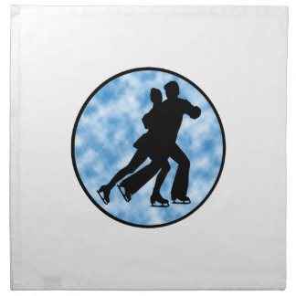 Couple Skate Napkin