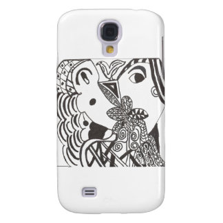 couple with bird samsung galaxy s4 cases