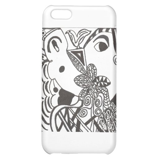 couple with bird case for iPhone 5C