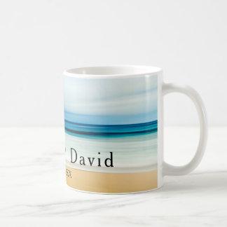 Couples Beach Wedding Remembrance Memento Coffee Mug