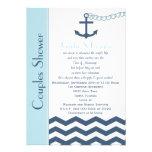 Couples Coed Wedding Shower Invitation - Nautical Invitations