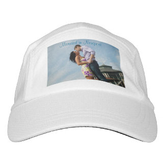 Couples Custom Knit Performance Hat, White Hat