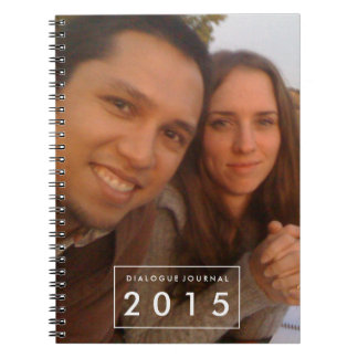 Couples Dialogue Book Photo Personalized  Notebook