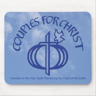 Couples for Christ Mousepad