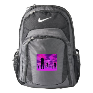 Couples in love - 3D render Backpack