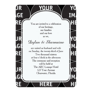 Couple's Inviting Wording Template Invitation