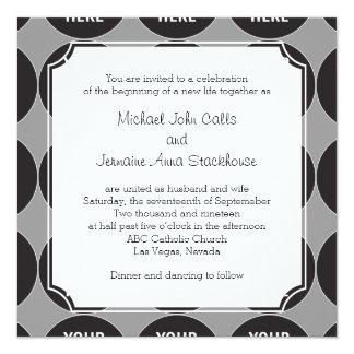 Couple's Inviting Wording Template Invitation 002