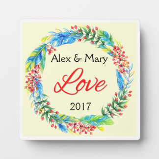 Couple's Love Plaque