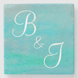 Couple's Monogram Coaster