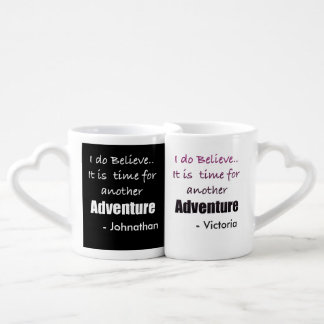 Couples Mug Set for the Traveling Couple