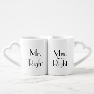 """Couples"" Nesting Mug Set"