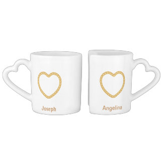 Couples Personalised Coffee Mug