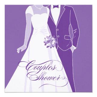 Couples Shower Invitation - Blue