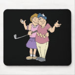 Couples That Golf Together Stay Together Mouse Pad