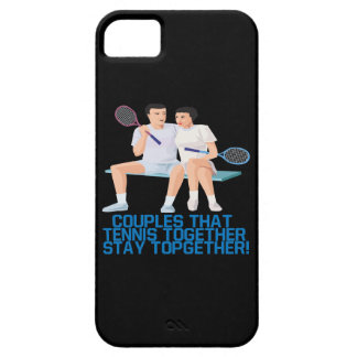 Couples That Tennis Together Case For The iPhone 5