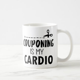 Couponing is my cardio coffee mug