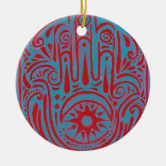 Courage and Compassion Ceramic Ornament