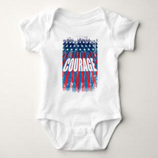 courage baby bodysuit