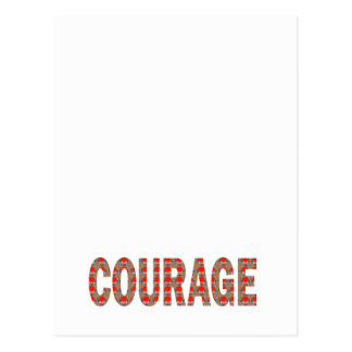 COURAGE: Brave Kind Leader Champion LOWPRICES GIFT Postcard
