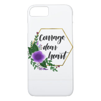 Courage, dear heart iPhone 8/7 case