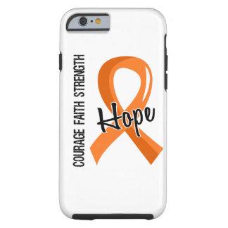 Courage Faith Hope 5 Multiple Sclerosis Tough iPhone 6 Case