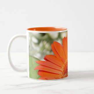 'Courage' Flower Mug