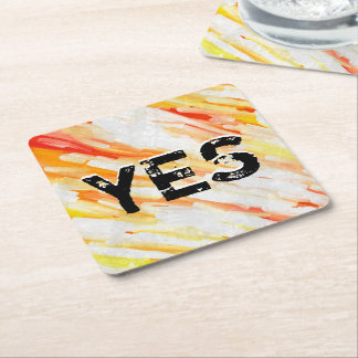 Courage Lm Square Paper Coaster