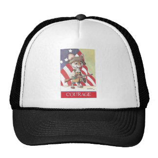 Courage mouse trucker hat
