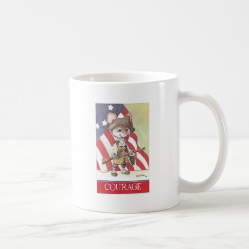 Courage mouse mugs