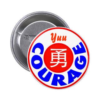 Courage - Yuu 6 Cm Round Badge