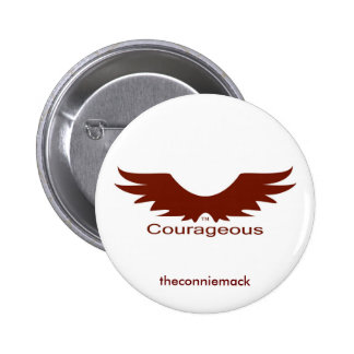 Courageous Wings Button