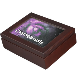 Courageously LOVE Keepsake Box