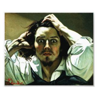 Courbet The Desperate Man Print Photo Print