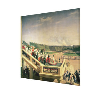 Court banquet in the Gardens of Schonbrunn Palace Gallery Wrapped Canvas