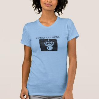 Court Couture in Light Blue T-Shirt