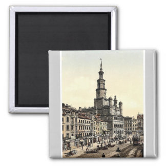 Court House and Old Market, Posen, Germany (i.e., Square Magnet