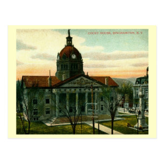 Court House, Binghamton, New York Vintage Postcard