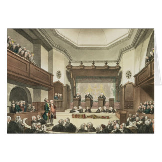 Court of Common Pleas, Westminster Hall Card