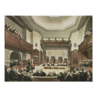 Court of Common Pleas, Westminster Hall Poster