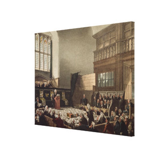 Court of Exchequer, Westminster Hall Gallery Wrap Canvas