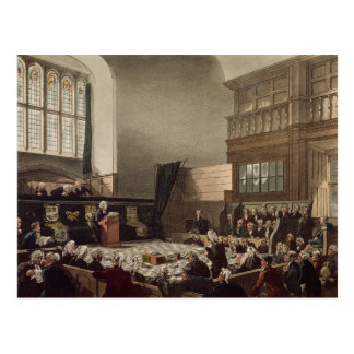 Court of Exchequer, Westminster Hall Postcard