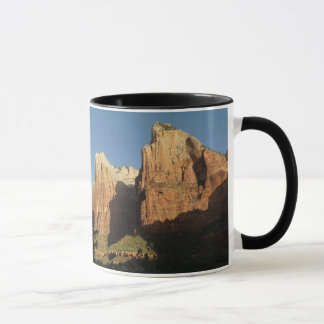 Court of the Patriarchs at Zion National Park Mug
