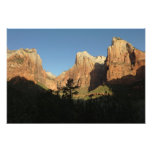 Court of the Patriarchs at Zion National Park Photograph