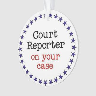 Court Reporter Case